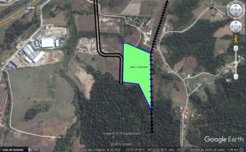 Terreno de 43.000m² no Bairro de Itapety em Mogi das Cruzes